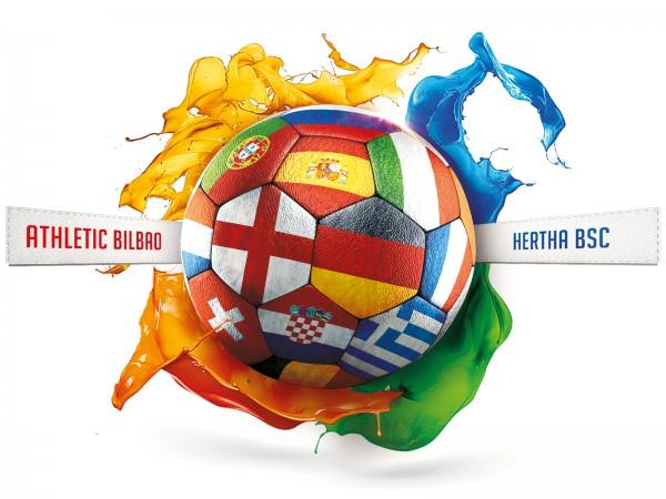 Flugreise Athletic Bilbao - Hertha BSC am 23.11.2017